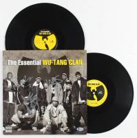 "Inspecta Deck, Method Man & Masta Killa Signed ""The Essential Wu-Tang Clan"" Vinyl Record Album (Beckett LOA) at PristineAuction.com"
