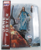 "Stan Lee Signed ""Thor: The Dark World"" Jane Foster Marvel Action Figure (PSA COA & Lee Hologram) at PristineAuction.com"