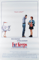 """For Keeps"" 27x40 Original Movie Poster at PristineAuction.com"