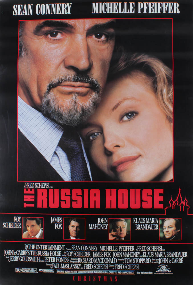 """The Russia House"" 27x40 Original Movie Poster at PristineAuction.com"