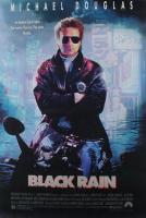 """Black Rain"" 27x40 Original Movie Poster at PristineAuction.com"