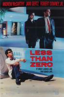 """Less Than Zero"" 27x40 Original Movie Poster at PristineAuction.com"