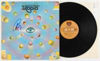 """Todd Rundgren Signed """"Utopia"""" Vinyl Record Album (Beckett Hologram) at PristineAuction.com"""