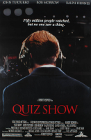 """Quiz Show"" 27x40 Double Sided Original Movie Poster at PristineAuction.com"