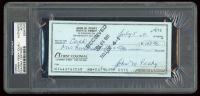 Johnny Pesky Signed 1991 Personal Bank Check (PSA Encapsulated) at PristineAuction.com