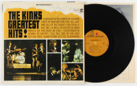 "Ray Davies & Dave Davies Signed ""The Kinks Greatest Hits!"" Vinyl Record Album (JSA COA) at PristineAuction.com"