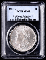 1883-O Morgan Silver Dollar - McClaren Collection II (PCGS MS63) at PristineAuction.com