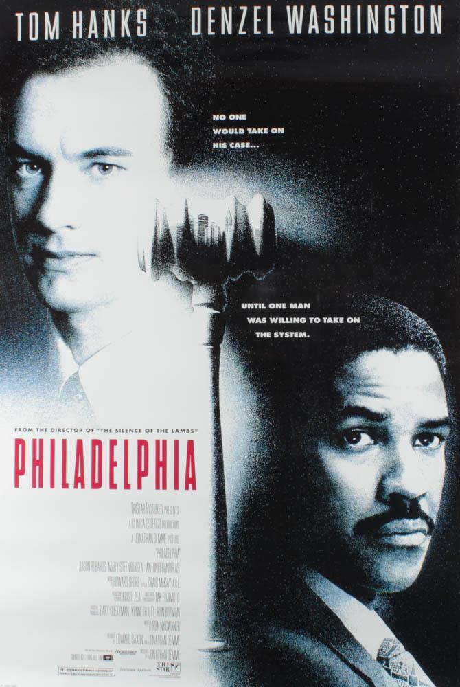 """Philadelphia"" 27x40 Original Movie Poster at PristineAuction.com"