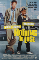 """Nothing to Lose"" 27x40 Double Sided Original Movie Poster at PristineAuction.com"