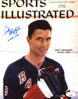 """Andy Bathgate Signed Rangers 8x10 Photo Inscribed """"HHOF 1978"""" (JSA COA) at PristineAuction.com"""