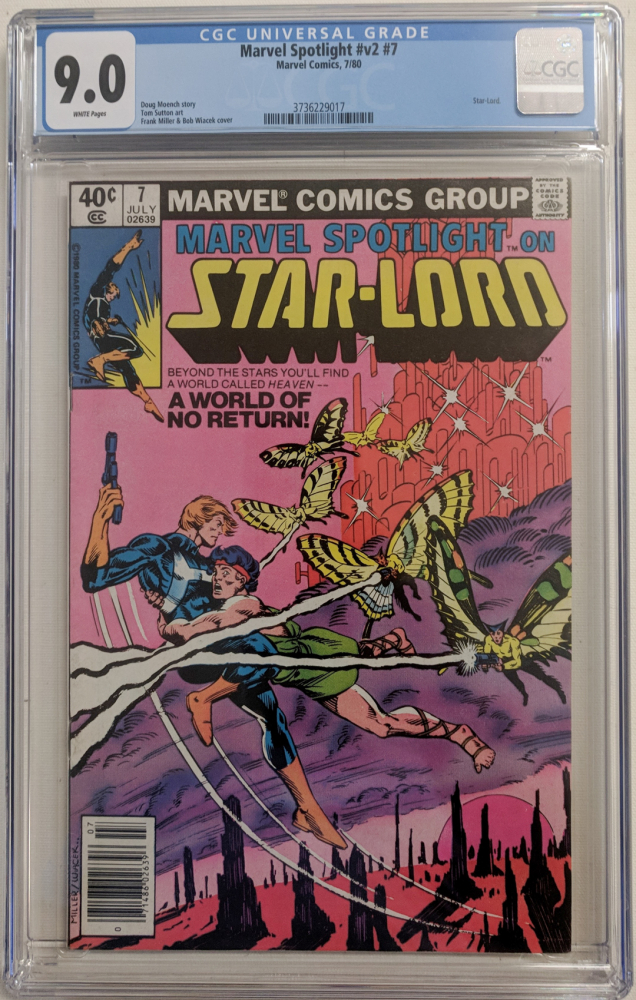 "1980 ""Marvel Spotlight"" Vol. 2 Issue #7 Marvel Comic Book (CGC 9.0) at PristineAuction.com"