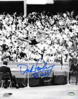 """Dick Fosbury Signed 8x10 Photo Inscribed """"68 Gold"""" (Schwartz COA) at PristineAuction.com"""