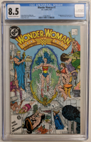 "1987 ""Wonder Woman"" Issue #7 DC Comic Book (CGC 8.5) at PristineAuction.com"