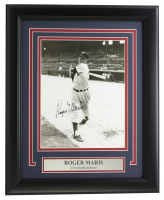 Roger Maris Signed Indians 11x14 Custom Framed Photo Display (JSA LOA) at PristineAuction.com
