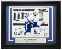 Nikita Kucherov Signed Lightning 11x14 Custom Framed Photo Display (JSA COA) at PristineAuction.com