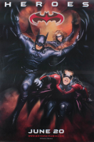 """Batman & Robin"" 27x40 Heroes Double Sided Movie Poster at PristineAuction.com"