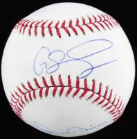Yankees OML Baseball Signed by (4) With Joe Girardi, Mariano Rivera, Gary Sanchez & Brett Gardner (JSA COA) at PristineAuction.com