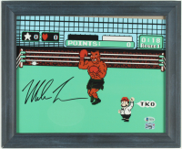 "Mike Tyson Signed ""Punch-Out!!"" 13.5x16.5 Custom Framed Print Display (Beckett COA & Fiterman Sports Hologram) at PristineAuction.com"