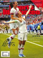 Alex Morgan Signed 2019 Sports Illustrated Magazine (JSA COA) at PristineAuction.com
