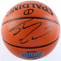 Shaquille O'Neal Signed Magic Logo NBA Game Ball Series Basketball (Schwartz Sports COA) at PristineAuction.com