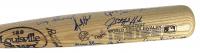 "Yankees & Dodgers World Series Louisville Slugger Baseball Bat Signed by (27) with Don Drysdale, Duke Snider, Yogi Berra, Jim ""Catfish"" Hunter, Tommy Lasorda (PSA LOA) at PristineAuction.com"