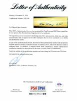 Bill Dickey & Yogi Berra Signed Cooperstown Commemorative Retirement Baseball Bat (PSA LOA) at PristineAuction.com