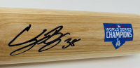 Cody Bellinger Signed Louisville Slugger 2020 World Series Champions Baseball Bat (Fanatics Hologram & MLB Hologram) at PristineAuction.com