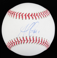 Ozzie Albies Signed OML Baseball (Beckett COA) at PristineAuction.com