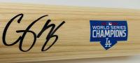 Corey Seager Signed Louisville Slugger 2020 World Series Champions Baseball Bat (Fanatics Hologram & MLB Hologram) at PristineAuction.com