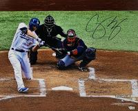 Corey Seager Signed Dodgers 16x20 Photo (Fanatics Hologram) at PristineAuction.com