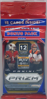2020 Panini Prizm NFL Football Cello Pack with (15) Cards at PristineAuction.com