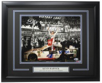 Kevin Harvick Signed NASCAR 16x20 Custom Framed Photo Display (Beckett COA) at PristineAuction.com