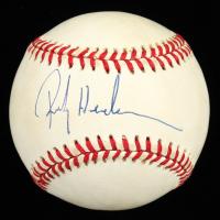 Rickey Henderson Signed OAL Baseball (PSA COA) at PristineAuction.com
