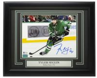Tyler Seguin Signed Stars 11x14 Custom Framed Photo Display (Beckett COA & YSMS Hologram) at PristineAuction.com
