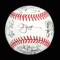 2017 Team USA  World Baseball Classic Logo Baseball Team-Signed by (27) with Buster Posey, Christian Yelich, Alex Bregman, Paul Goldschmidt, Giancarlo Santon, Nolan Arrenado (PSA LOA) at PristineAuction.com