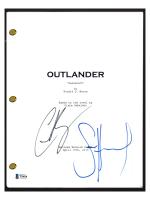 "Sam Heughan & Caitriona Balfe Signed ""Outlander"" Episode Script (Beckett COA) at PristineAuction.com"