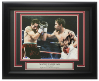 Manny Pacquiao Signed 11x14 Custom Framed Photo Display (PSA COA) at PristineAuction.com