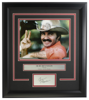 "Burt Reynolds ""Smokey & The Bandit"" 16x19 Custom Framed Photo Display at PristineAuction.com"