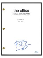 "Paul Feig Signed ""The Office: E-Mail Surveillance"" Episode Script (AutographCOA COA) at PristineAuction.com"