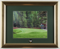 The Masters at Augusta 13x16 Custom Framed Photo Display with Masters Pin at PristineAuction.com
