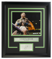 "Conor McGregor ""The Notorious"" 14x18 Custom Framed Photo Display at PristineAuction.com"