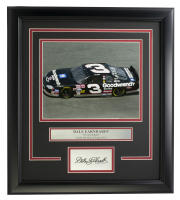 "Dale Earnhardt Jr. ""The Intimidator"" 16x19 Custom Framed Photo Display at PristineAuction.com"