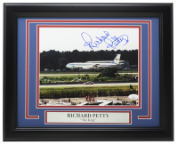 Richard Petty Signed 11x14 Custom Framed Photo Display (JSA Hologram) at PristineAuction.com