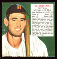 1953 Ted Williams Redman's Tobacco Picture Card at PristineAuction.com