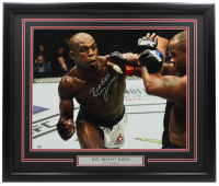 "Jon ""Bones"" Jones Signed UFC 22x27 Custom Framed Photo Display (PSA COA) at PristineAuction.com"