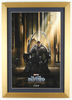 """Black Panther"" 15x21 Custom Framed Print Display at PristineAuction.com"