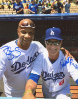 Don Mattingly & Darryl Strawberry Signed Dodgers 8x10 Photo (Schulte Hologram) at PristineAuction.com
