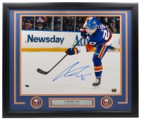 Anders Lee Signed Islanders 22x27 Custom Framed Photo with (2) Islanders Medallions (Lee COA) at PristineAuction.com