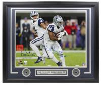 Dak Prescott & Ezekiel Elliott Signed Cowboys 22x27 Custom Framed Photo Display With (2) Cowboys Pins (JSA COA & Beckett COA) at PristineAuction.com