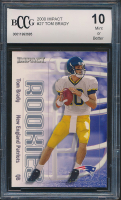 2000 Tom Brady Impact #27 RC (BCCG 10) at PristineAuction.com